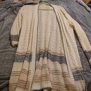 Long over sweater